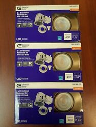 Commercial Electric 3 in. Directional LED Recessed Lighting Kit 3 pack