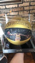 """Kobe Bryant Hall Of Fame Basketball """"Limited Edition"""" 1 Out Of 2408"""" $1150.00"""