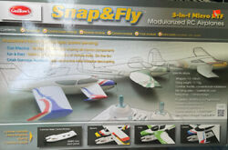 Guillows RC Airplanes Snap And Fly 3 In 1 Micro RTF New In Box $129.99
