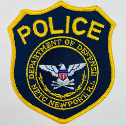 NETC Newport Rhode Island Department of Defense Police Naval Station Patch A1 $28.49