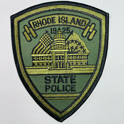Rhode Island State Police Subdued OD Green RI Patch A2 $23.74