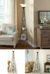 New Tall Modern Metal Floor Lamp Display Home Living Room Decor Accent 69quot; 69 in $37.59