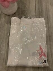 Jeffree Star White long sleeve shirt Snow Flake Accent Exclusive Holiday 2020 $40.00