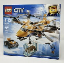 LEGO CITY 60193 Arctic Air Transport Saber Tooth Ice Plane Helicopter ATV $79.99