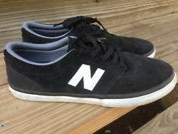 New Balance # Numeric quot;Brighton 345quot; Sneakers black Mens Skating Shoes 8.5 $34.99
