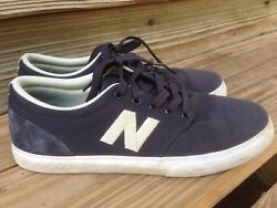 New Balance # Numeric quot;Brighton 345quot; Sneakers navy Mens Skating Shoes 8.5 $34.99