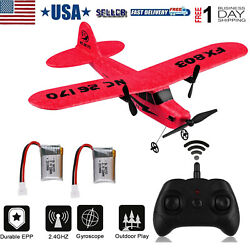 FX 803 RC Plane 2.4GHz 2CH Airplane 6 Axis Gyro Remote Control Aircraft Red $31.00