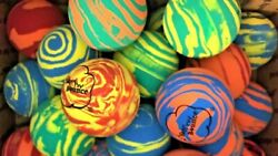 Sky Bounce Rubber Ball Rainbow Assorted Colors Pack of 12 $17.70