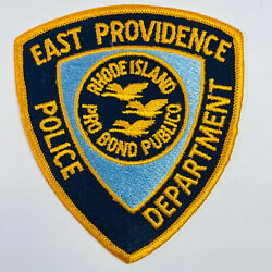 East Providence Police Rhode Island RI Patch A4 C $9.99