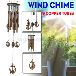 Wind Chimes Outdoor Large Anchor Metal Garden Patio Porch Decoration 22.6inch $7.87