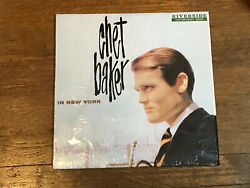 Chet Baker LP in Shrink In New York Riverside Contemporary Series OJC 207 $29.99