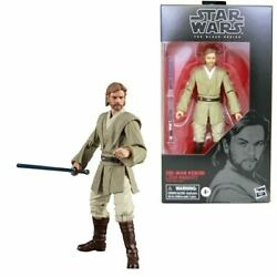 Star Wars Black Series Obi Wan Kenobi Jedi Knight 6 Inch Action Figure *IN STOCK $29.95