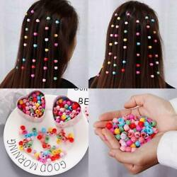 Plastic Hair Claw Clips Candy Colour Girls For Womens Grips Beads Headwear Mini $3.58