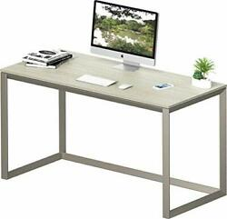SHW Triangle Leg Home Office Computer Desk Silver Gray $137.49