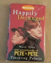 NICKELODEON The Adventures of Pete and Pete Cassette New Still Sealed $30.00
