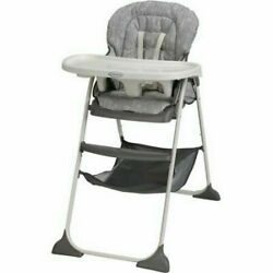 Graco 1927570 Slim Snacker High Chair Gray $79.99