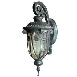 1 Light Exterior Lighting Wall Mount Oil Rubbed Bronze Outdoor Sconce Lantern