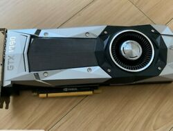 NVIDIA GeForce GTX 1080 Founders Edition 8GB GDDR5 SDRAM PCI Express 3.0 GPU $440.86