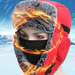 Outdoor Cycling Cold Proof Ear Warm Cap Thickened Ear Winter Warmer Hat Unisex $25.18