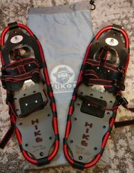 YUKON CHARLIE#x27;S 8x25 6000 Series quot;HIKEquot; 825 with BAG up to 200lbs Snowshoes $89.99