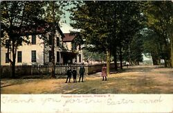 Pleasant Street School Westerly Rhode Island Early 1900#x27;s Children $6.99