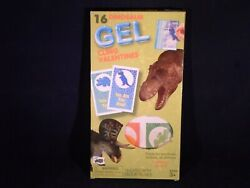 Dinosaur 16 Gel Cling Valentines For Ages 3  T5 12 $5.99
