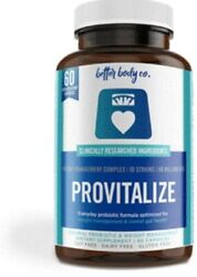 Provitalize Best Natural Weight Management.Better Body Co. EXP:09 23 $28.99