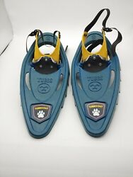 Tubbs Snowshoes Snow Winter Shoe Yellow Green Kids Child Children 15quot; x 6quot; $19.90