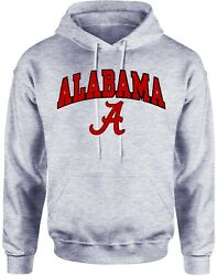Alabama Hoodie University Crimson Tide Shirt College Clothing Apparel