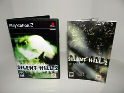 Silent Hill 2 Playstation 2 Replacement manual case and case insert $29.99