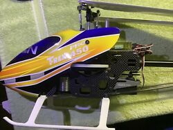 Rc Helicopter Align TREX 450 Pro DFC With Mini Kbar BNF $275.00