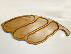 Vintage Mid Century Modern Tray or Wall Art Piece Beautiful 25quot; X 10quot; $59.99