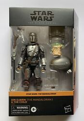Din Djarin amp; The Child The Mandalorian Target Star Wars The Black Series In Hand $59.98