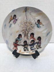 1992 THE LORDS CANDLE Decorative Plate by Ted DeGrazia #1167 $14.99