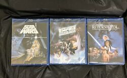 Star Wars Despecialized Original Trilogy Theatrical Editions 3 BluRay NEW SEALED $45.00