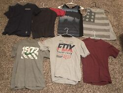 Boys Size Large Lot Shirts And Tanks Nike Fox Other $32.00