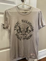 True Religion Designer Men's Fashion T Shirt