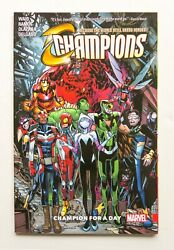 Champions Vol. 3 Champion For A Day Marvel Graphic Novel Comic Book $10.99