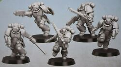 Warhammer 40k Space Marine Assault Intercessors Combat Squad 5 New on Sprue $20.95