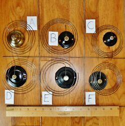 Choose 1 Only Clock Gong Choose A B C D or F Antique Parts E is SOLD $9.99