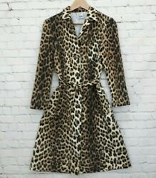 Moschino cheap and chic Leopard Dress US Size 8 $79.00