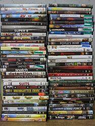 60 DVD Lot   Bulk Wholesale DVD Movies Used Assorted Genres $33.00