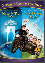 Nanny McPhee 2 Movie Family Fun Pack New DVD Snap Case $6.16