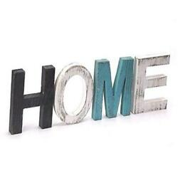 Home Decor SignTeal Wall Decor Wooden Letters for Wall Decor Rustic Home HOME $15.93