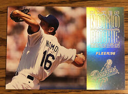 Hideo Nomo 1996 Fleer Rookie Sensation Dodgers #12 of 15 *2212* $3.00