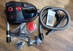 Severin S#x27;Power Extreme Bagless Canister Vacuum Cleaner Midnight Black $229.98