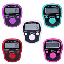 Digit Digital LCD Electronic Golf Finger Hand Ring Knitting Row Tally Counter A $2.14