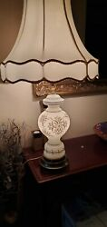 Vintage glass table lamp shade $53.00