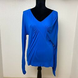 Blue BCBG Maxazria Activewear Top Size Small