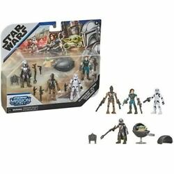 Star Wars Mission Fleet Defend the Child Mandalorian Action Figure Set *IN STOCK $29.95